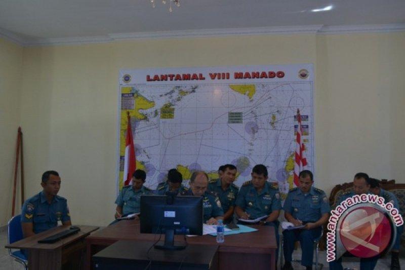 Danlantamal Manado video conference dengan Aslog Kasal