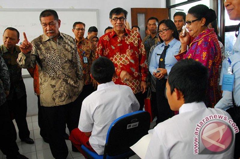 Menkumham Resmikan Lembaga Pembinaan Khusus Anak Bandung