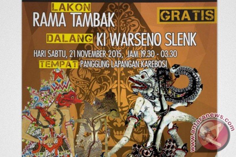 Wayang Kulit Bahasa Indonesia digelar Di Karebosi