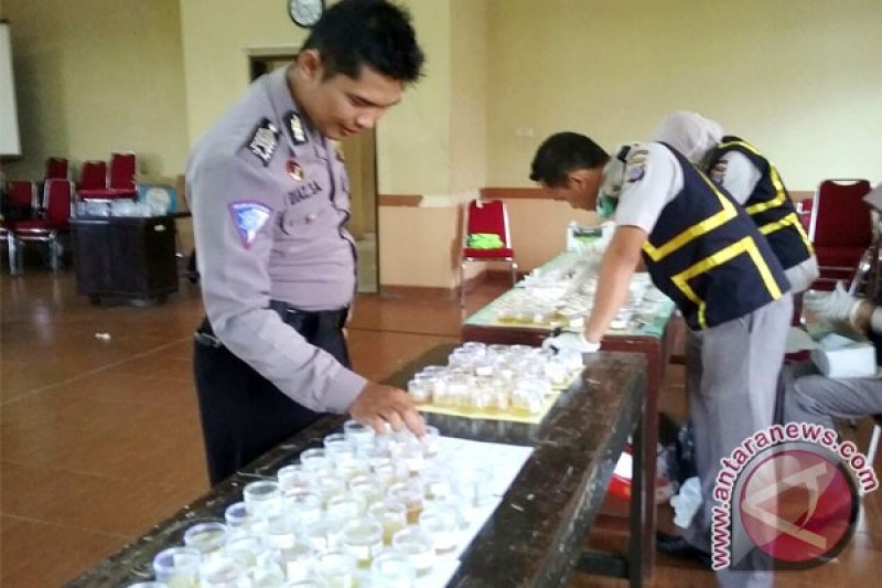 Peserta pemilihan Dimas-Diajeng Sleman jalani tes narkoba