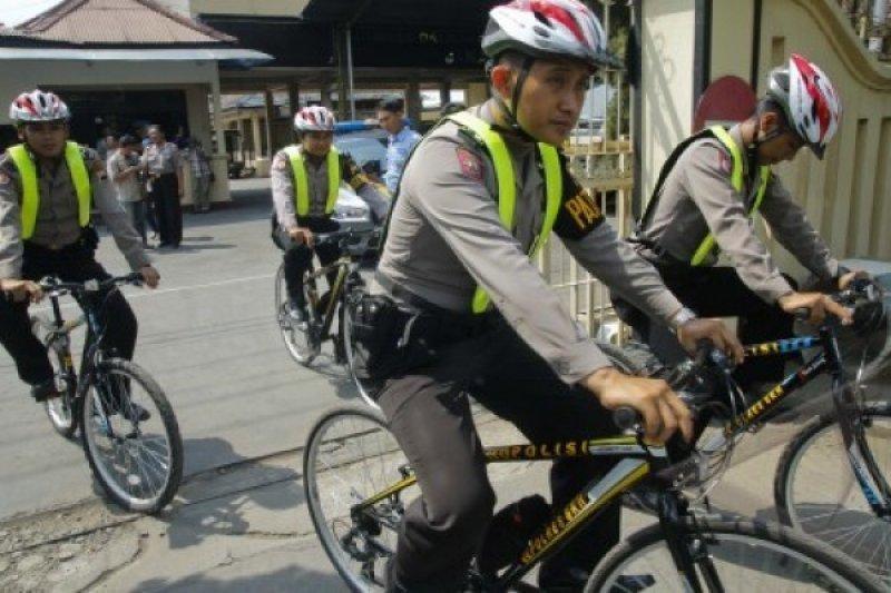 Tingkatkan pelayanan,Polres Banjarnegara intensifkan patroli sepeda