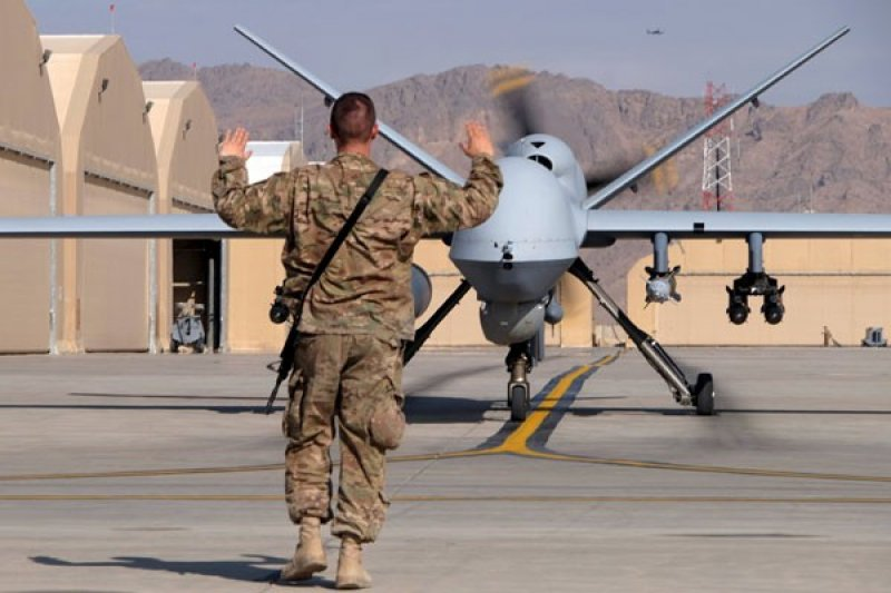 "Rusia tembak jatuh pesawat ""drone"" AS"