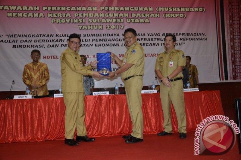 Mendagri Buka Musrenbang RKPD Sulawesi Utara