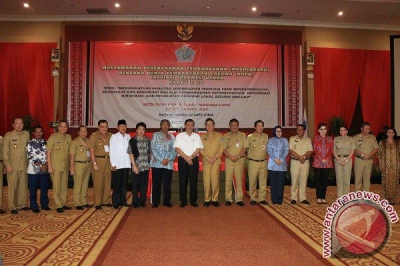 Eman Dukung Musrenbang RKPD Sulawesi Utara