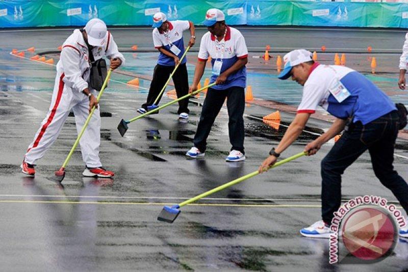 Ketua PB PON XIX :Track Sepatu Roda Saparua Terbaik di Indonesia
