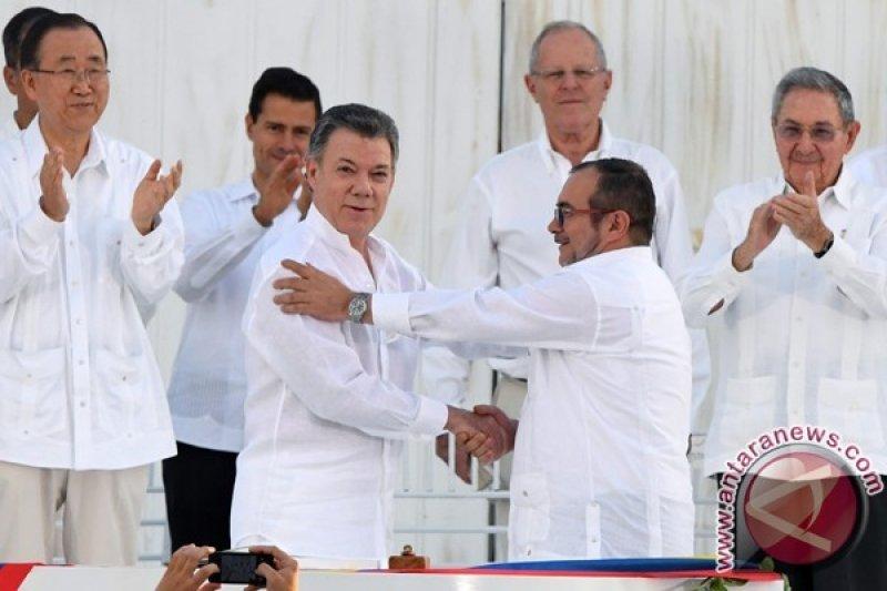 Presiden Kolombia Juan Manuel Santos Raih Nobel Perdamaian 2016