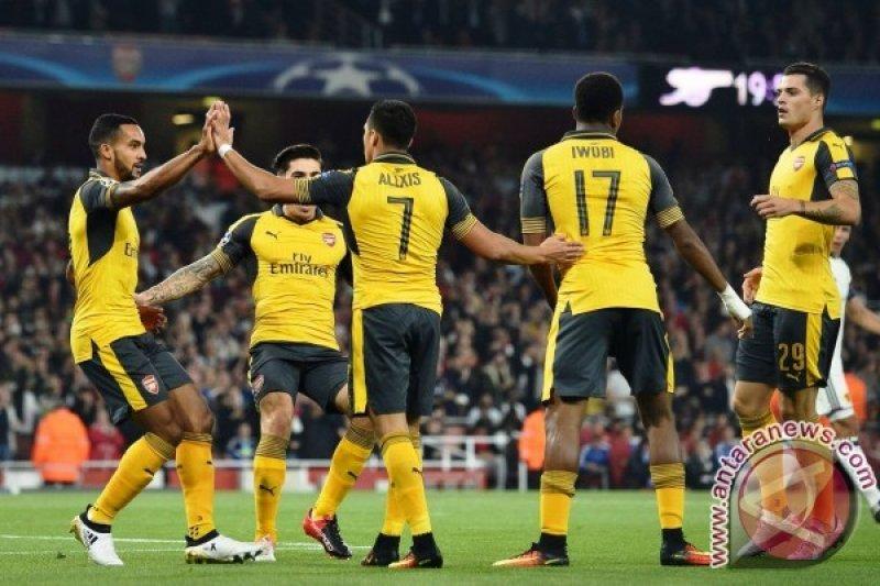 Arsenal Gulung Ludogorets 6-0