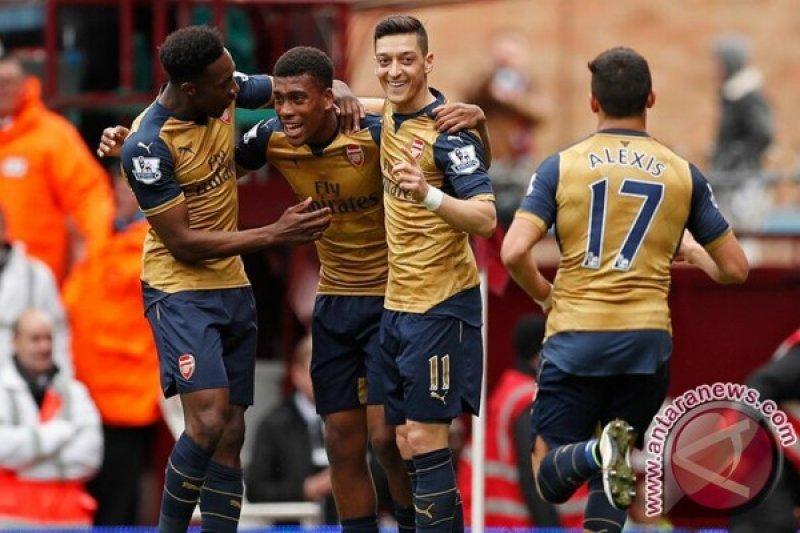 Arsenal Bekuk Ludogorets 3-2