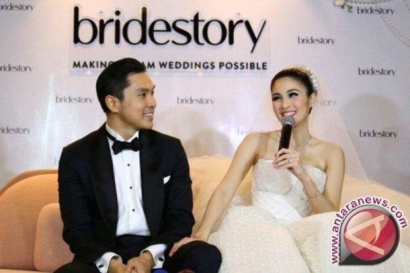 Sandra Dewi resmi melepas masa lajang