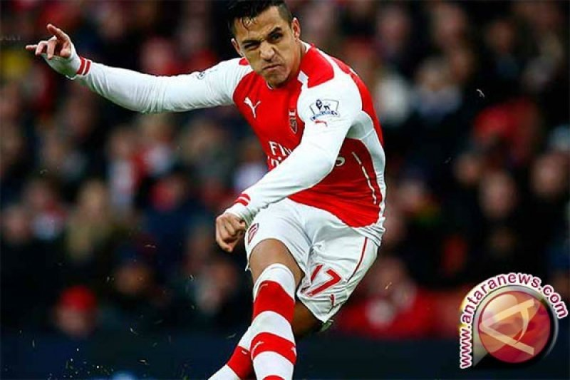 Hadapi PSG, Wenger Tidak Turunkan Alexis Sanchez