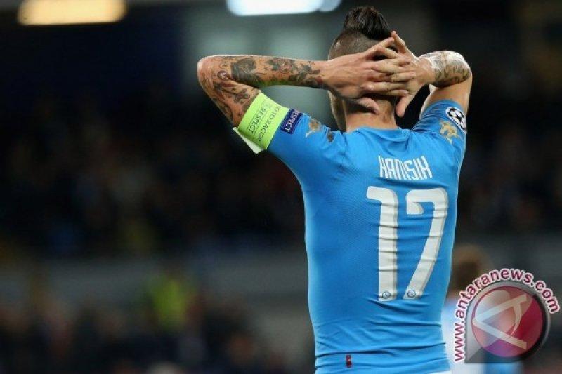 Kekalahan atas Verona, menjauhkan Napoli kejar gelar Liga Italia