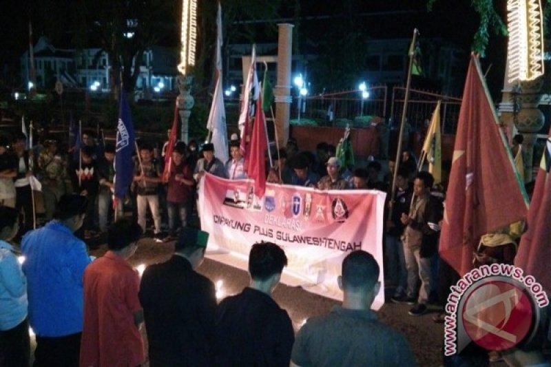 Koalisi Cipayung plus gelar aksi kebangsaan di Palu