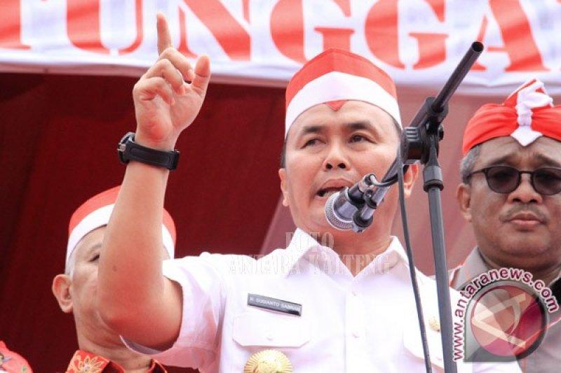 Gubernur Kalteng Tegaskan Pantang Menyerah Gali Pendapatan