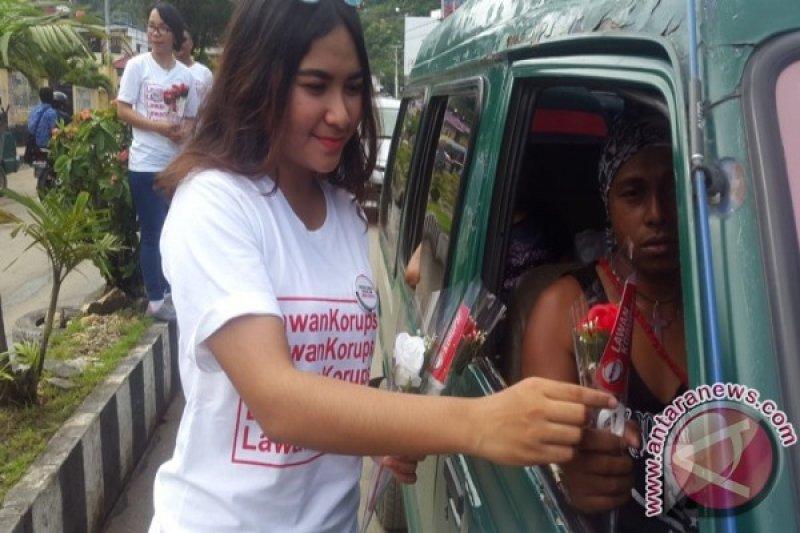 DJP Papua-Maluku gelar aksi simpatik lawan korupsi