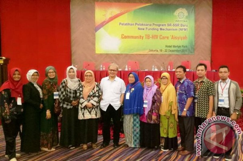 Kader Aisyiyah Kalteng Ikuti Pelatihan Community TB-HIV Care