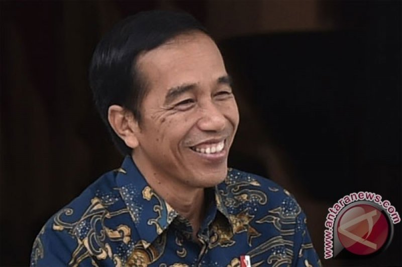 "Presiden Sematkan Pin ""He for She"""