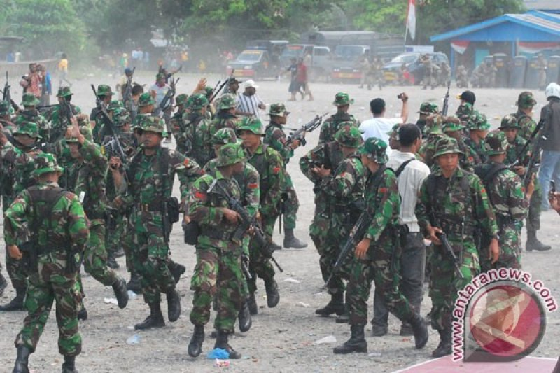 TNI Secara Persuasif Dekati Kelompok Kriminal Bersenjata di Papua