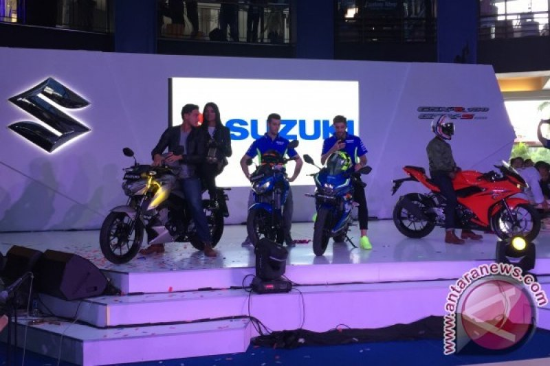 Iannone dan Alex Rins Saksikan Peluncuran Suzuki GSX-R150 & GSX-S150