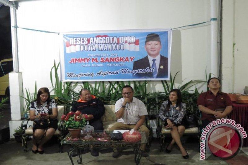 GPI Minta Jadi Kelurahan di Reses Anggota DPRD Manado