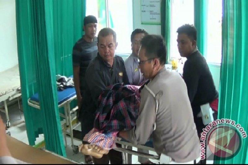 Polres Mesuji Amankan Sopir Truk Tabrak Polisi