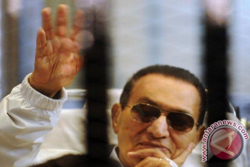 Mantan Presiden Mesir Hosni Mubarak meninggal
