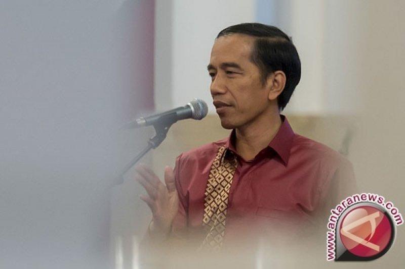 Pemudik gratis ucapkan selamat HUT Jokowi