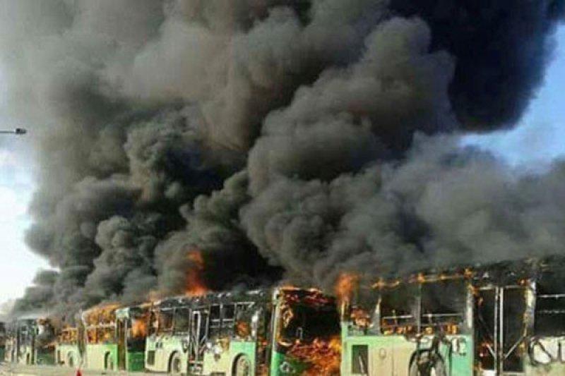Serangan bus di Deir al-Zor tewaskan 28 orang