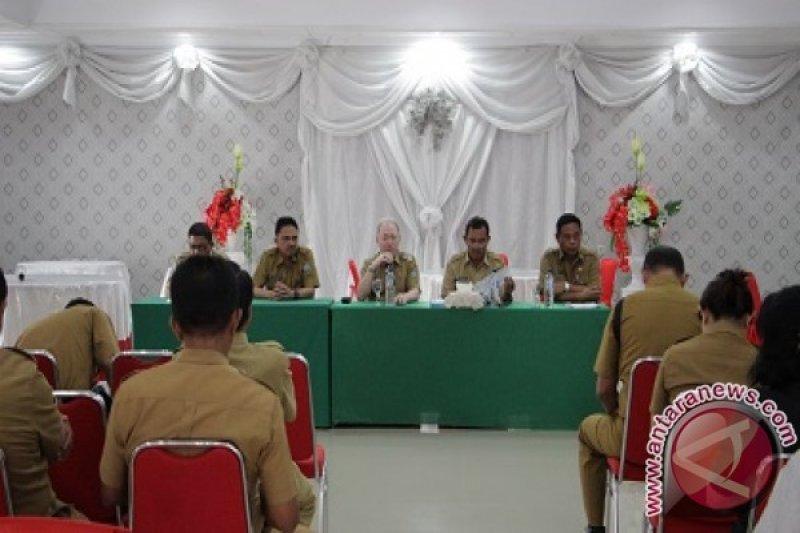 Panitia matangkan acara pelantikan Gaghana-Hontong