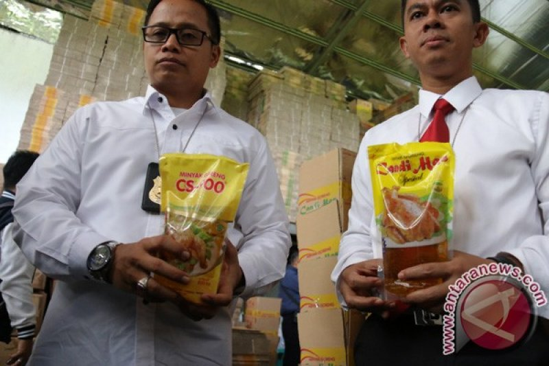 Polisi Amankan  Minyak Goreng Diduga Ilegal