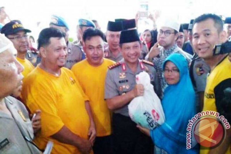 Artha Graha Peduli ramaikan bazar Ramadhan Polda Sumsel