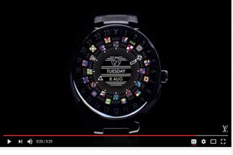Ini Penampakan Arloji Pintar Louis Vuitton Seharga Rp39 Juta