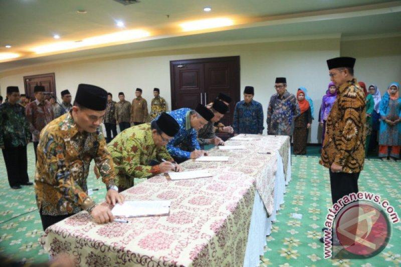 Menag Lantik Rektor Pertama UIN IB Padang