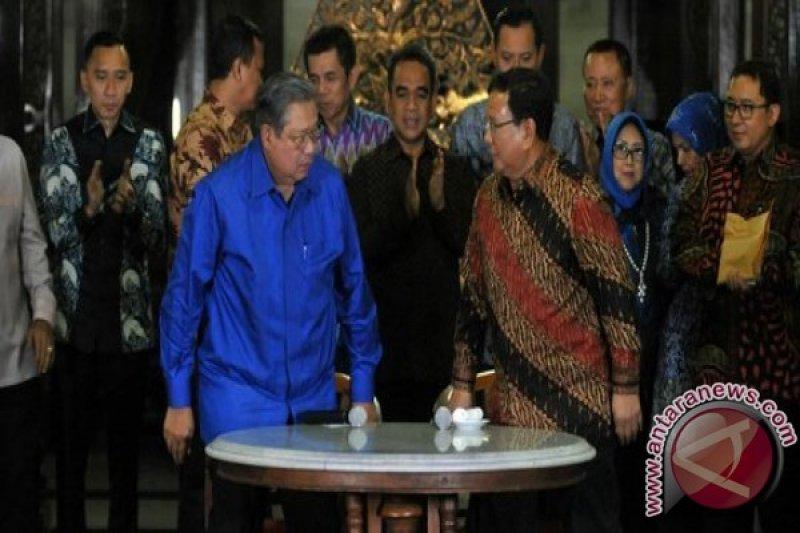 Pertemuan SBY-Prabowo Pertegas Posisi Sebagai Oposan