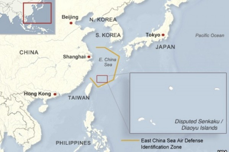 Kapal perusak Jepang dan China tabrakan di Laut China Timur