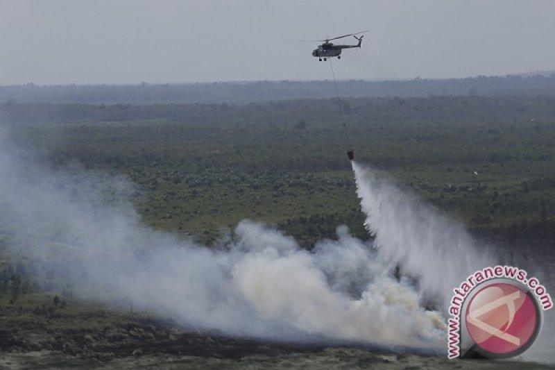 Pemerintah siagakan helikopter bom air cegah karhutla di Sumsel