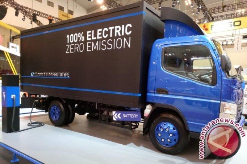Mitsubishi Fuso pamer truk listrik Canter E-Cell di GIIAS