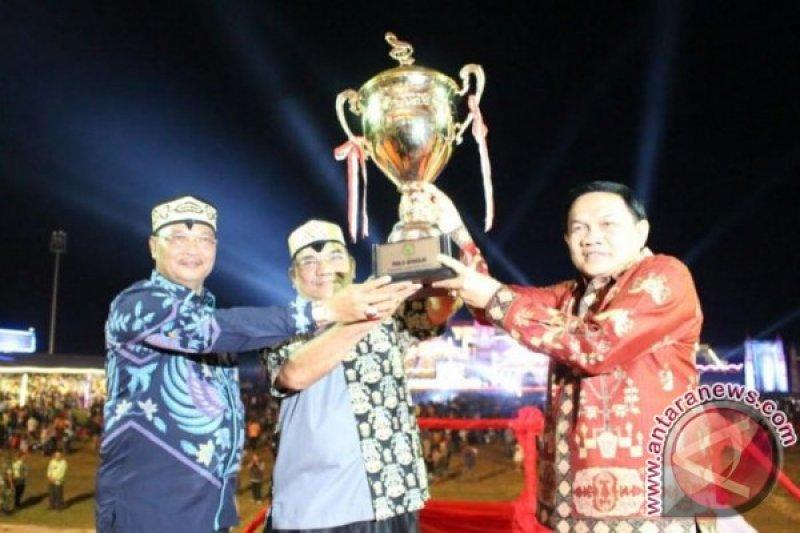 Gubernur Bangga Pesparawi Kalteng Berlangsung Sukses