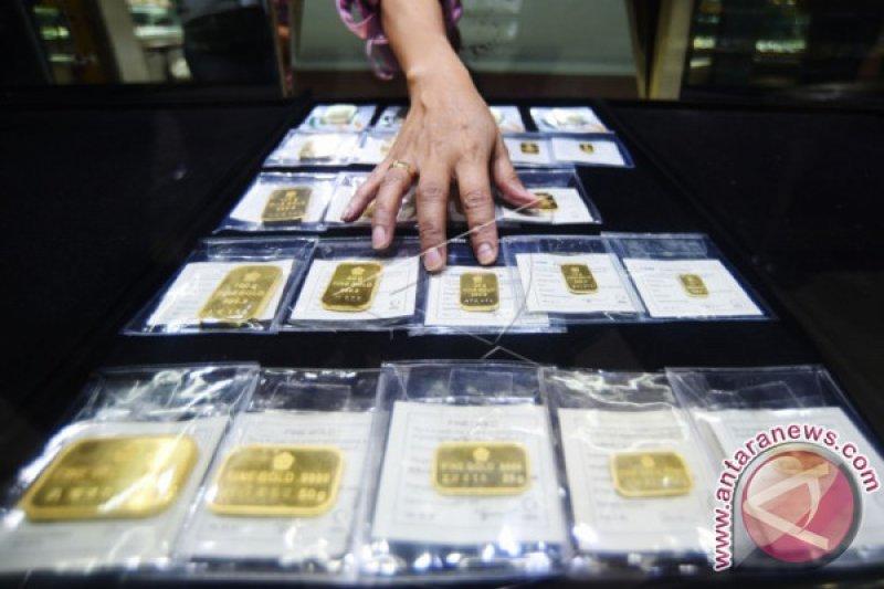 Aksi ambil untung, emas berjangka melemah 0,41 persen
