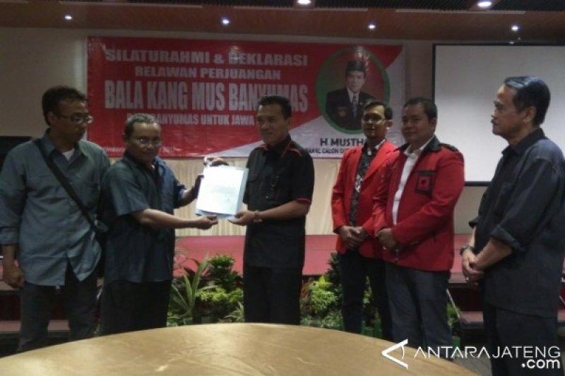 """Kader PDIP Deklarasikan """"Bala Kang Mus Banyumas"""""""