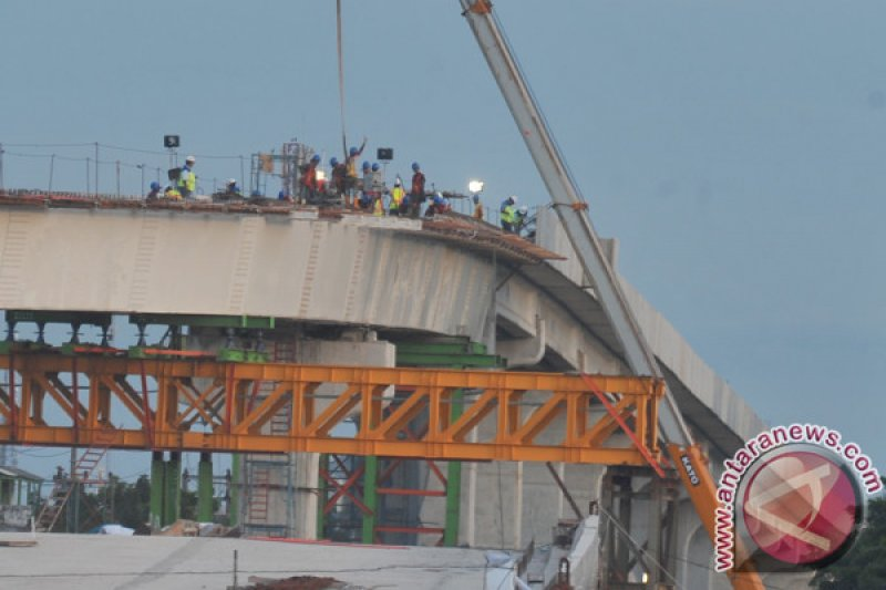 Peserta BPJS Ketenagakerjaan jasa konstruksi meningkat