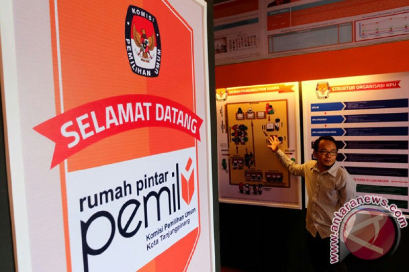 KPU Tanjungpinang kelola data calon pemilih