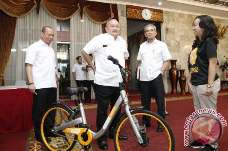 Jakabaring Palembang akan miliki sepeda berbasis online