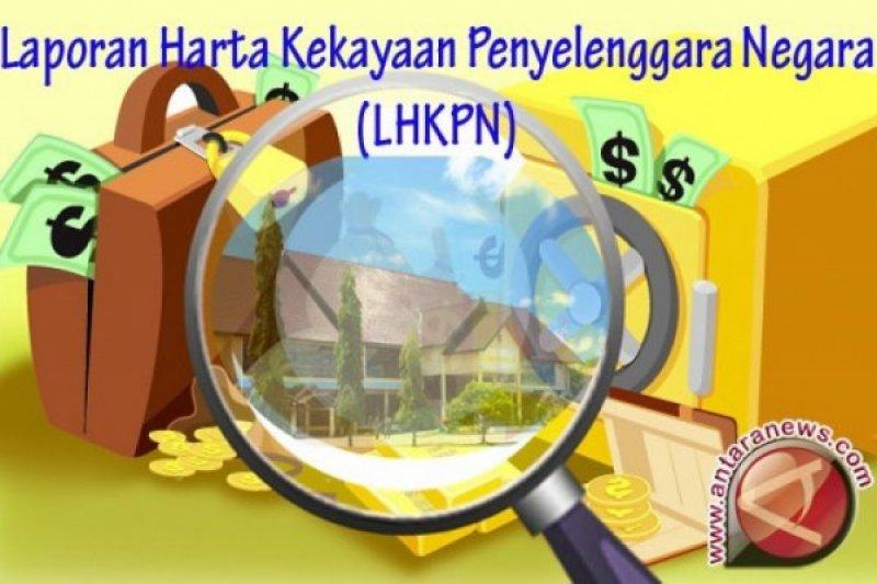 Kepatuhan menyetorkan LHKPN baik eksekutif, legislatif dan BUMN/D masih rendah
