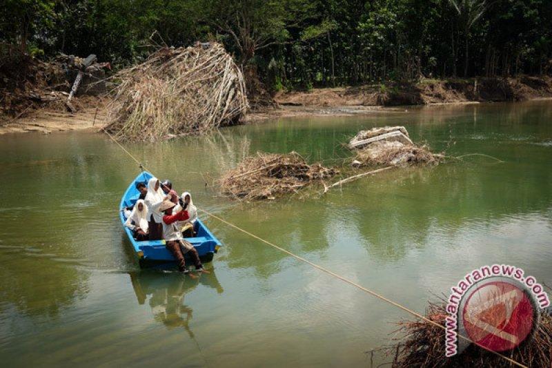 Wisata Sungai Oya Yogyakarta ditata pascabadai Cempaka