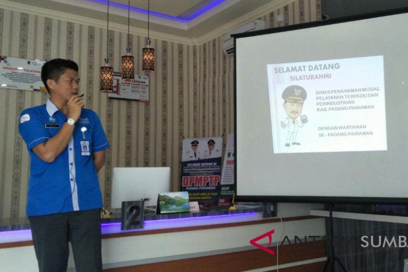 Pemkab Padang Pariaman Terbitkan 1.927 Perizinan Selama 2017