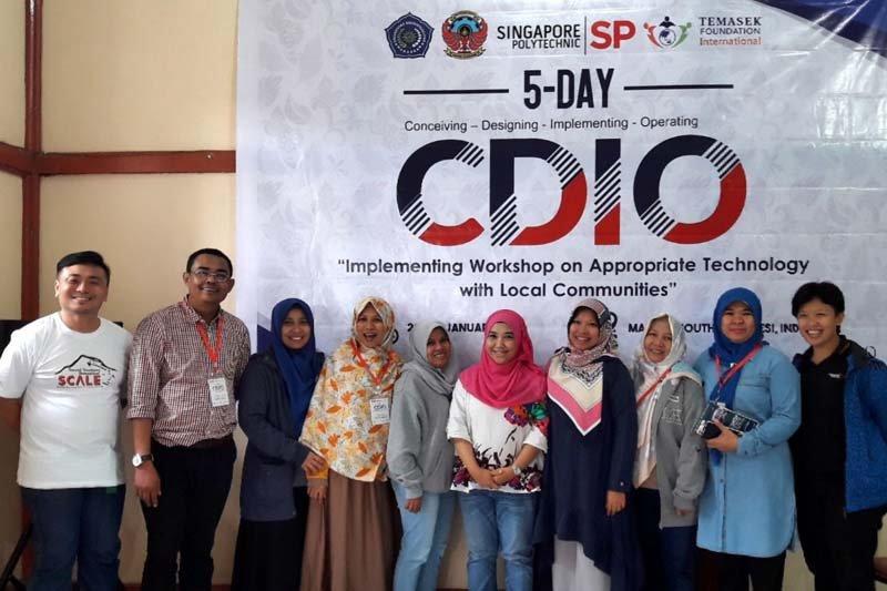 Tujuh dosen PNUP ikuti program CDIO 2018