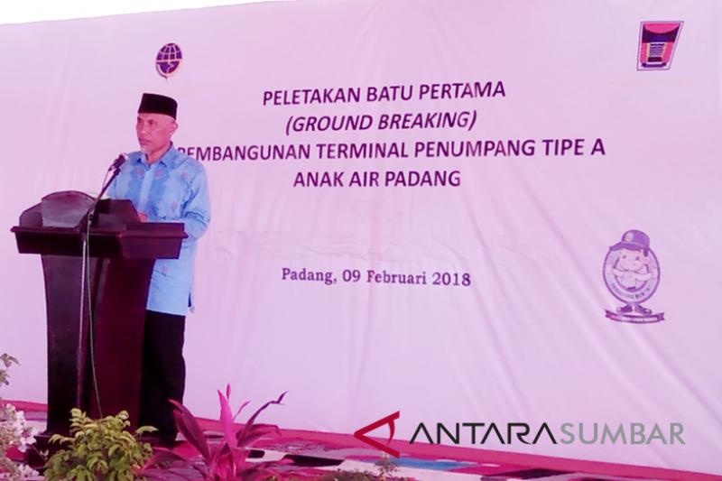 Terminal Padang akan diintegrasikan dengan kereta api dan Trans Padang