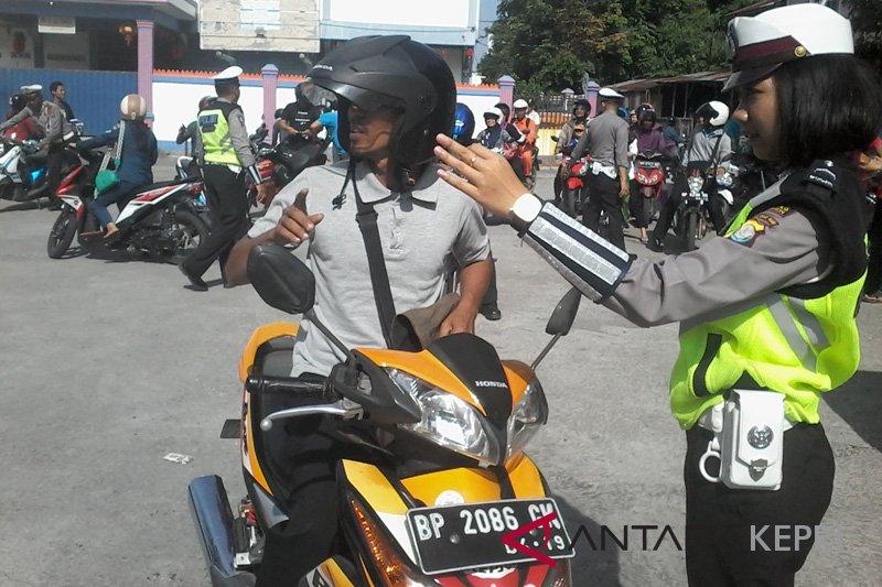 Satlantas Polres Karimun tertibkan motor modifikasi