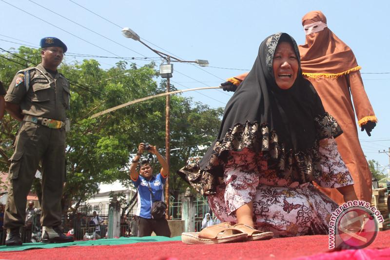 Dua Wanita Di Aceh Barat Daya Terancam Dicambuk 100 Kali