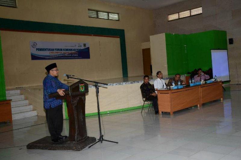 Bupati Kukuhkan Forum Komunikasi Pokdarwis Lombok Utara